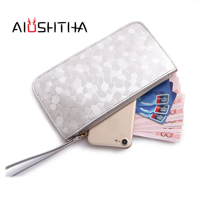 cde01ea73707 US $12.99  women coin purses holder wallets and purse for girls ladies kids  coins Card holder money bags small leather Phone Slim Clutch-in Coin ...
