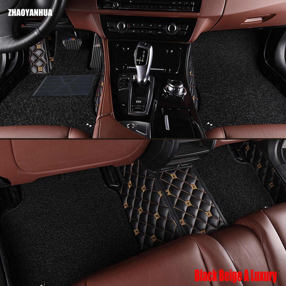 Zhaoyanhua автомобильные коврики для Chevrolet Cruze Малибу Sonic Trax sail Captiva Epica 5D Тюнинг автомобилей ковровое покрытие лайнер