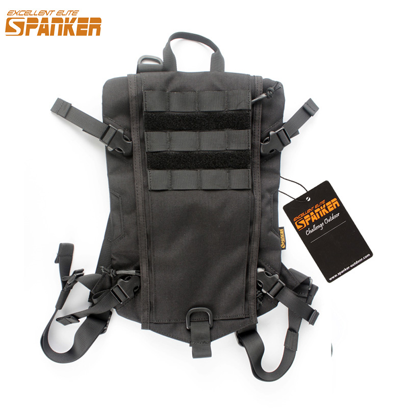 EXCELLENT ELITE SPANKER Tactical Hydration Bag Military Hunting Camping Storage Backpack Package Molle Vest Equipment Accessory accessories bag quick tug tactical vest accessory box page 4