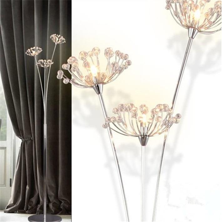 Bedroom With Floor Lamp