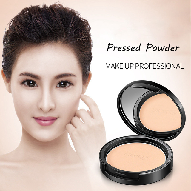 Matte Pressed Powder Makeup Concealer Oil-control Face Setting Foundation Facial Make Up Mineral Compact Powder Cosmetics 3