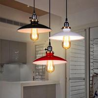 Vintage Lampshade Antique Lamp Cover Ceiling Metal E27 Pendant Ceiling Light Holder Lighting Bulb Chandelier Lamp Shade#