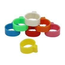 140 шт внутренний диаметр 1,6 см 7 цветов пластиковая пряжка открытого типа кольцо для ног курица утка гусь оборудование для птицеводства