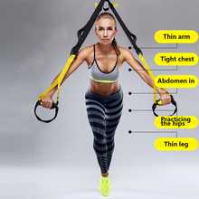 resistance bands gym equipment training workout yoga sport power band deporte exercise body fitness Expander Suspension straps