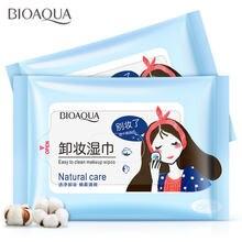 Bioaqua средство для снятия макияжа хлопковые салфетки лица
