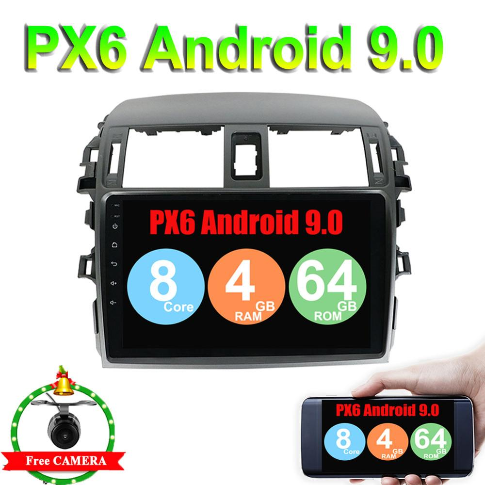 Worldwide delivery 2 din android 9 0 toyota corolla in