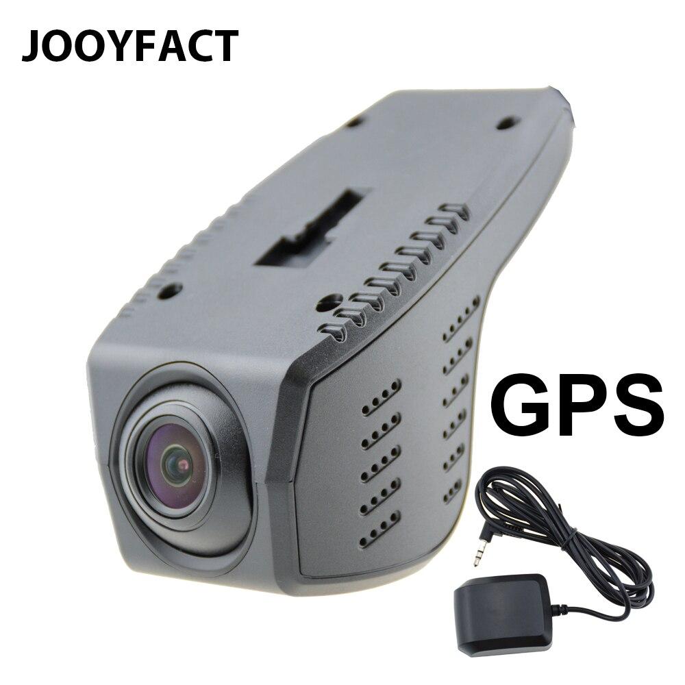 JOOYFACT A3 Voiture DVR DVR Registrator Dash Cam Caméra GPS Enregistreur Vidéo Numérique Caméscope 1080 p Nuit Vision 96658 IMX323 wiFi