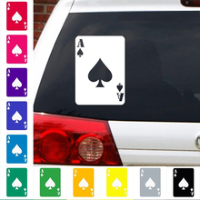 Ace Of Spades Decal Card Poker Sticker Car Truck Art Painting Car Stickers Vinyl Decor Decals printio ace of spades