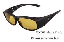 Fishing Hot Sale Quality Polarized Sunglasses Men Women Sun Glasses Driving Gafas fit over sunglasses cover myopia frame UV400