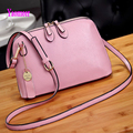 Fashion Shell Bag Women Handbag High Quality Pu Leather Messenger Shoulder Crossbody Bags Luxury Tassel Pink Zipper Clutch a68