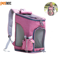 Petacc Pet Carrier Backpack Large Capacity Dog Carrier Puppy Travel Bag With Multiple Pockets And Magnetic