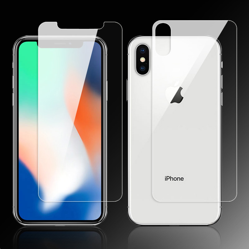 KIPX1000B_3_9H Explosion-proof Tempered Glass LCD Screen Protector for iPhone X