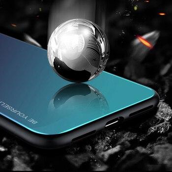 Color Case For Samsung Galaxy S10 S10e A9 A7 A8 A6 Plus 2018 A7 A5 2017 J8 J4 J6 Plus S9 S8 Plus Note 8 9 S Tempered Glass Cover 1