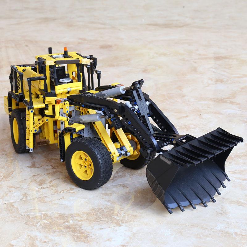 20006 technic series L350F wheel loader Remote control car Model Building blocks Bricks with 42030 Christmas