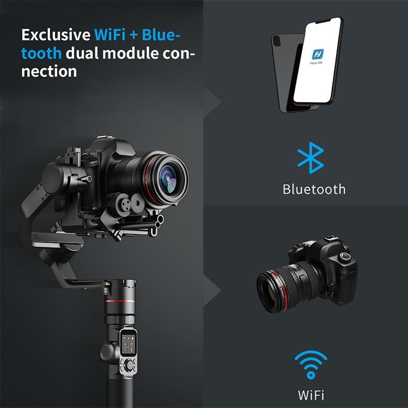 Feiyu AK4000 Maxload 4KG 3 Axis DSLR Camera Stabilizer Handheld Gimbal for  Sony Canon 5D Mark III 80D Nikon Panasonic PK RONIN S-in Handheld Gimbal  from ... 62265d389dd1