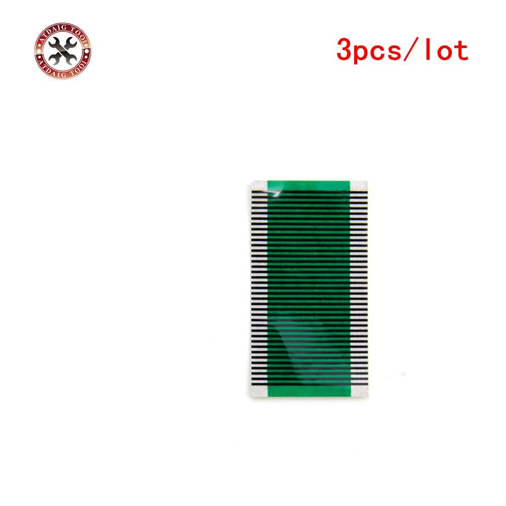 3 Pz Cavo Di Riparazione Del Pixel Per Bmw E38 Serie 7 Ac Aria Condizionata Unità Di Controllo Del Clima Piatto Lcd Pixel Repair Ribbon Cavo Crease-Resistenza