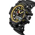 Marca de topo Mens Relógios Desportivos LED Relógio Digital relógios de Pulso Relogios masculinos dos homens de Moda Ao Ar Livre Militar À Prova D' Água 2016