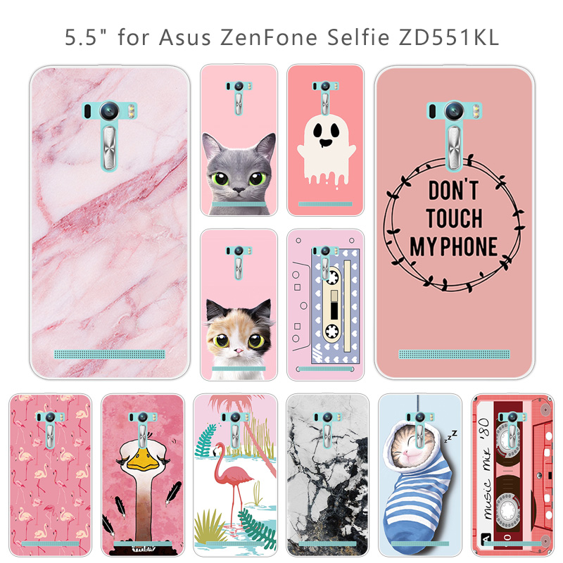 0b68b63f35a Detail Feedback Questions about Silicon Pink Case for Asus Zenfone Selfie  ZD551KL Phone Shell Soft TPU 5.5 inch for Fundas Asus ZD551KL Back Cover  Capa on ...