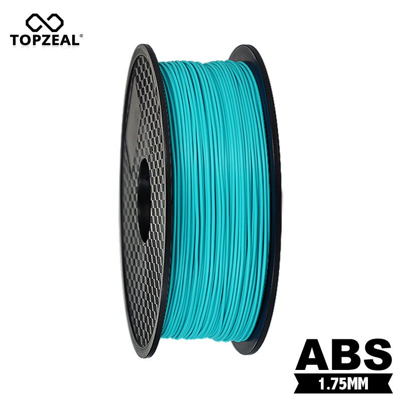 TOPZEAL Cyan Color HOT 3D Printer 1KG Printing Filament 1.75mm ABS 1 Roll|3D Printing Materials| |  - title=
