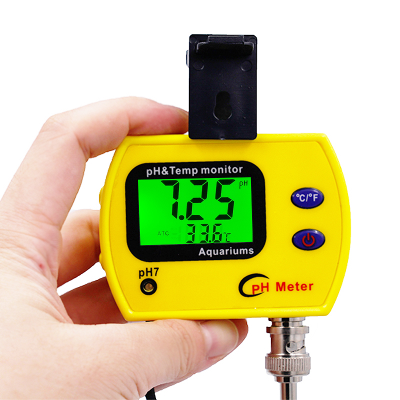 Mini portátil medidor de ph pH 991