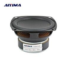 AIYIMA 1 قطعة 3.5 بوصة كامل المدى المتكلم ايفي 8 يا جلالة 20W باس المتكلم سائق الصوت مكبر الصوت ل تعديل السيارات DIY