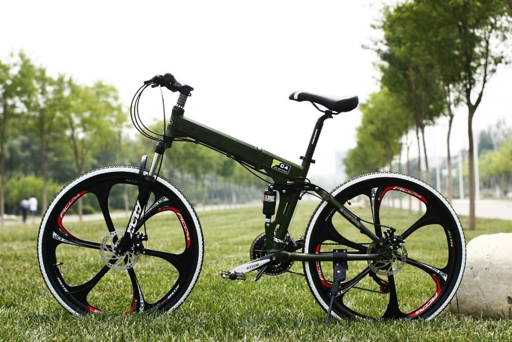 26 inch 27 speed M390 Set transmission shocking proof frame folding bike mountain bike MTB Bike outdoor downhill bicycle
