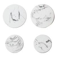 Скандинавский креативный мраморный Печатный трехмерный настенный декоративный крючок-накидка современный минималистичный декоративный ...