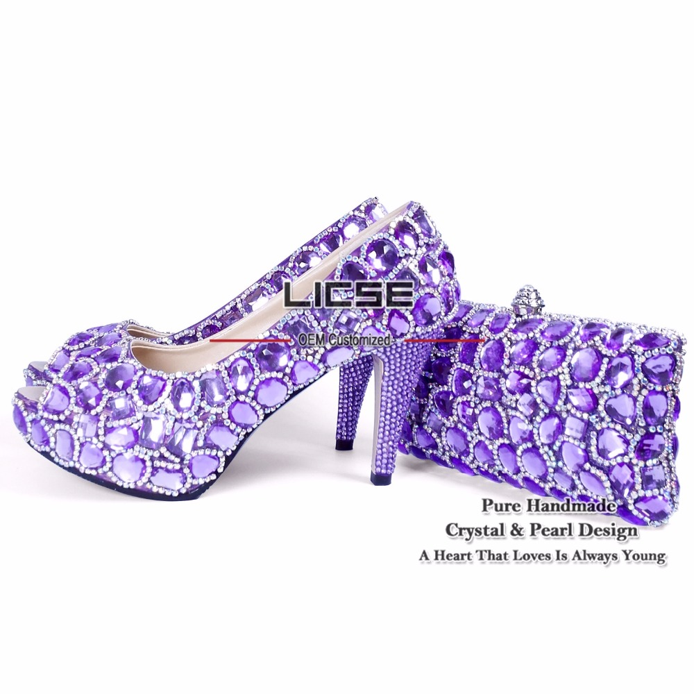 Purple High Heels Cheap