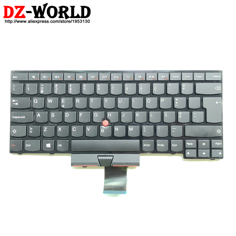 PT New/Orig For Thinkpad E430 E430C E435 E445 E530 E535 E330 E335 S430 Portuguese Keyboard Teclado 04Y0249 0C01648 04Y0212