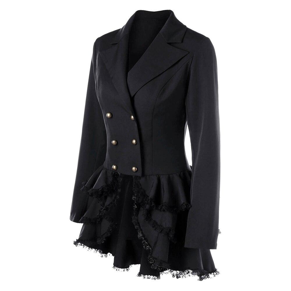 Women/'s Tuxedo Gothic Tailcoat Steampunk Victorian Jacket Coat Wedding Uniform