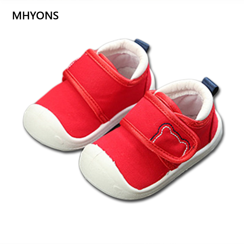 MHYONS 2018 new children's soft bottom toddler shoes boys and girls casual shoes garden shoes solid color breathable casual shoe mhyons 2018 new children s soft bottom toddler shoes boys and girls casual shoes garden shoes solid color breathable casual shoe