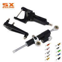 Steering Damper Stabilizer Bracket For HONDA CB1300 CB 1300 2003-2011 03 04 05 06 07 08 09 10 11