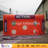 Free shipping inflatable soccer target games Customized 5MX2M inflatable football post games for kids and adults toys
