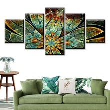 Modular Canvas HD Prints Posters Home Decor Wall Art Pictures 5 Pieces Artistic Nature Scenery Landscape Paintings Framework