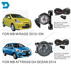 FOR MIRAGE fog lamp SET with bulb WIRE AND SWITCH ATTRAGE FOG LAMP SET CHOOSE BASED ON PICTURE HATCHBACK MIRAGE SALOON ATTRAGE