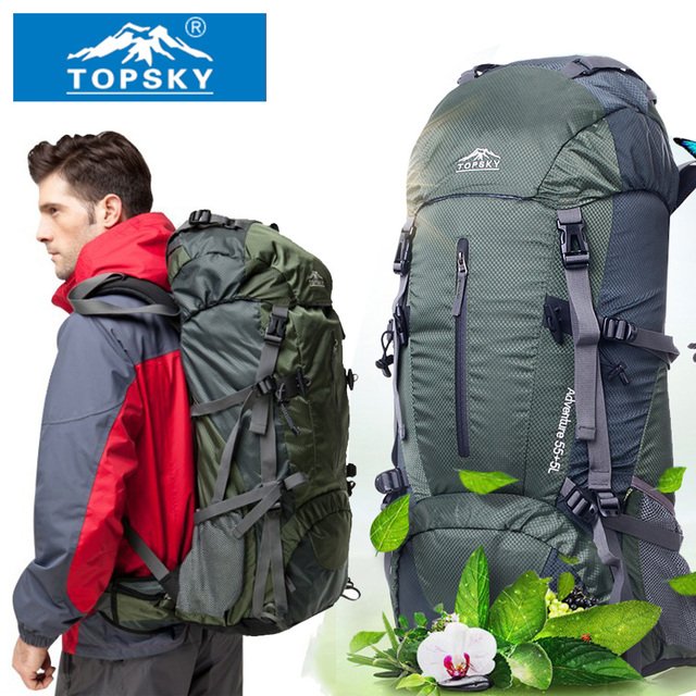 cd1aed6da479 Topsky Mountaineering bag Outdoor backpack Men women 40L 50L 60L Outdoor  Hiking Camping travel bag large capacity Free Shipping