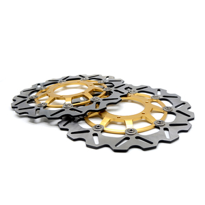 Image 3 - CNC Motorcycle Front Floating Brake Disc Rotor & Rear Brake Disc Rotor For Honda CBR600 cbr 600 2007 2013 CBR600RR 2003 2014