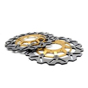 Image 3 - CNC мотоцикл передний ротор плавающего тормозного диска и задний тормозной диск ротора для Honda CBR600 cbr 600 2007 2013 CBR600RR 2003 2014
