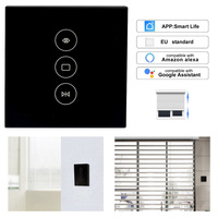Timethinker Smart WiFi Curtain Switch Electric Curtain Motor EU Interruptor WiFi for Alexa Google Home Smart Life App Support