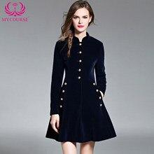 3c88cfc62d5d690 Осеннее винтажное элегантное черное бархатное платье, зимние платья,  утепленное теплое базовое платье с длинным рукавом, повседн.