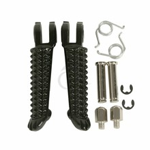 Motorcycle Front Footrests Foot Pegs Foot rest For Yamaha YZF R6 1999-2012 R6S 03-08 YZF R1 1998-2014 motorbike accessories цена