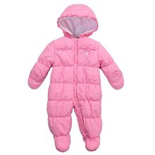 Winter baby with thick body foot warm climbing clothes
