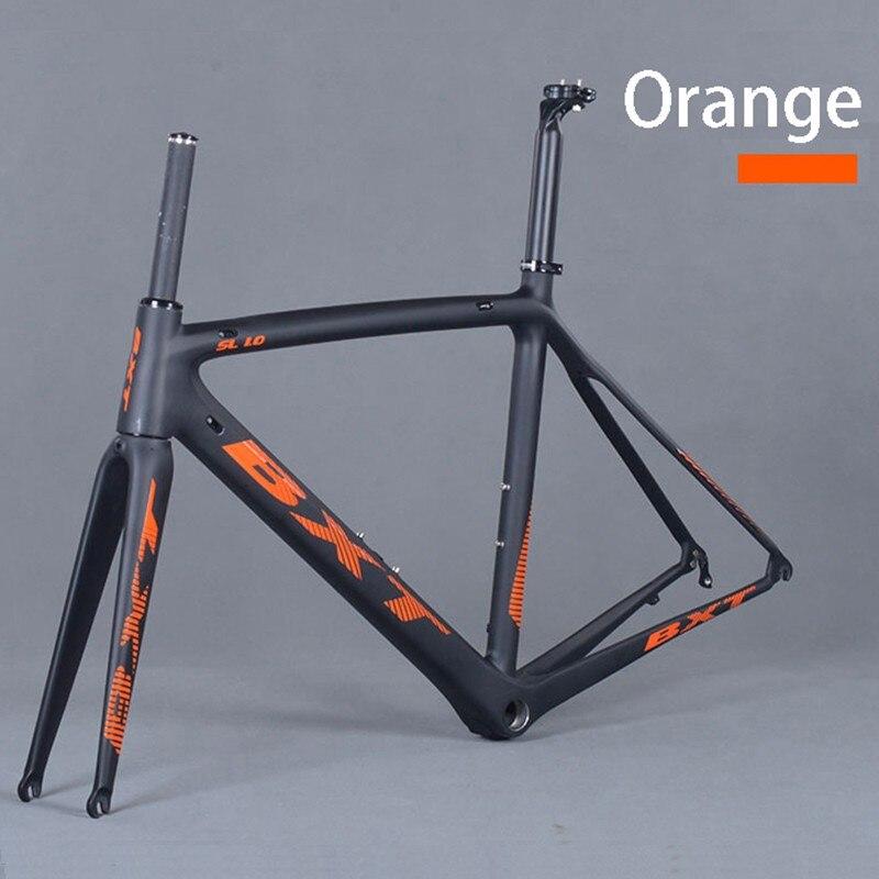factory price frame carbon road bike matte Carbon Racing Bicycle Frameset ultralight 5 color 50/53/55 cm bicicleta carbon frame цена 2017