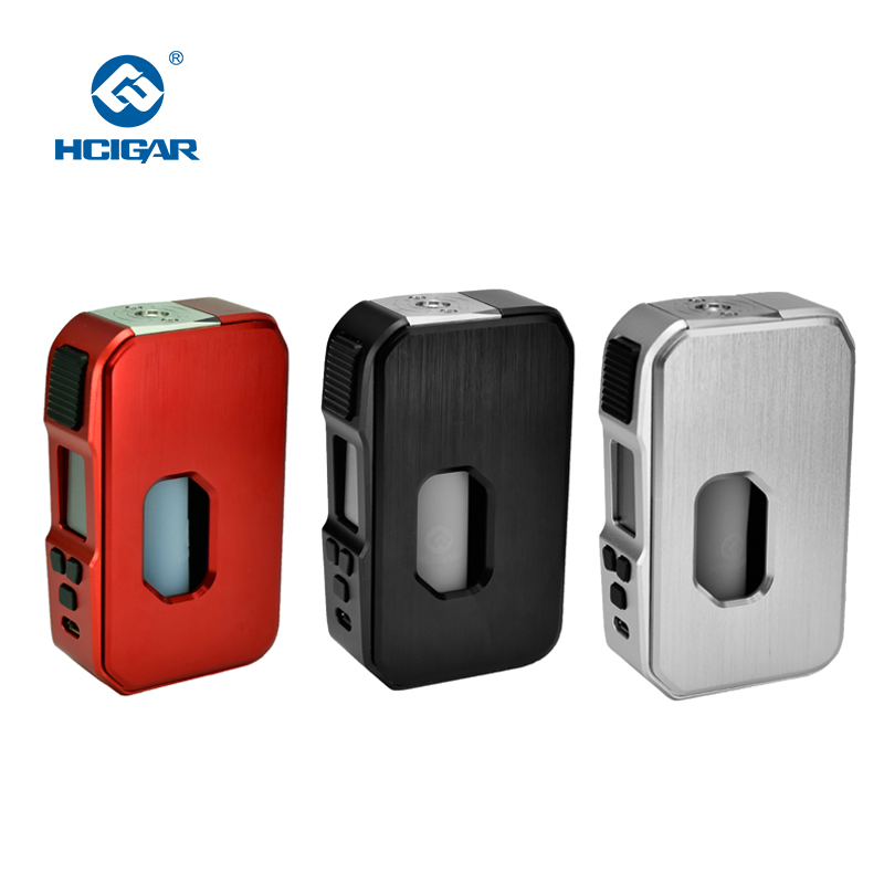 Original HCIGAR Towis Aurora Squonk Mod Output 5-80w Vaporizer 21700/20700/18650 Battery TFT Color Screen Electronic cigarettes