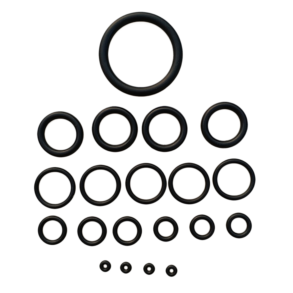 20 Pieces Scuba Diving O Ring Kit With Case For Dive Underwater Sports BCD Tank Hose Regulator Repair Replacement Accessories
