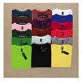 Nueva 2015 Otoño Invierno Mujeres Camiseta Básica V-cuello Del Color Del Caramelo de Alta Elasticidad de Manga Larga Que Basa La Camiseta Superior Femenina Tees