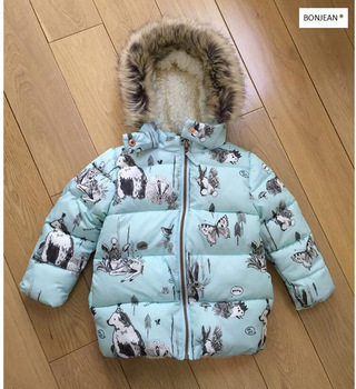 caf073f79 Ymila70 2017 New Winter Baby Girl Coat Print Rabbit Bunny Fleece Worm  Hooded Print Girl Coat Girl Outerwear Girls Clothes Lolita us$ 38.98/piece