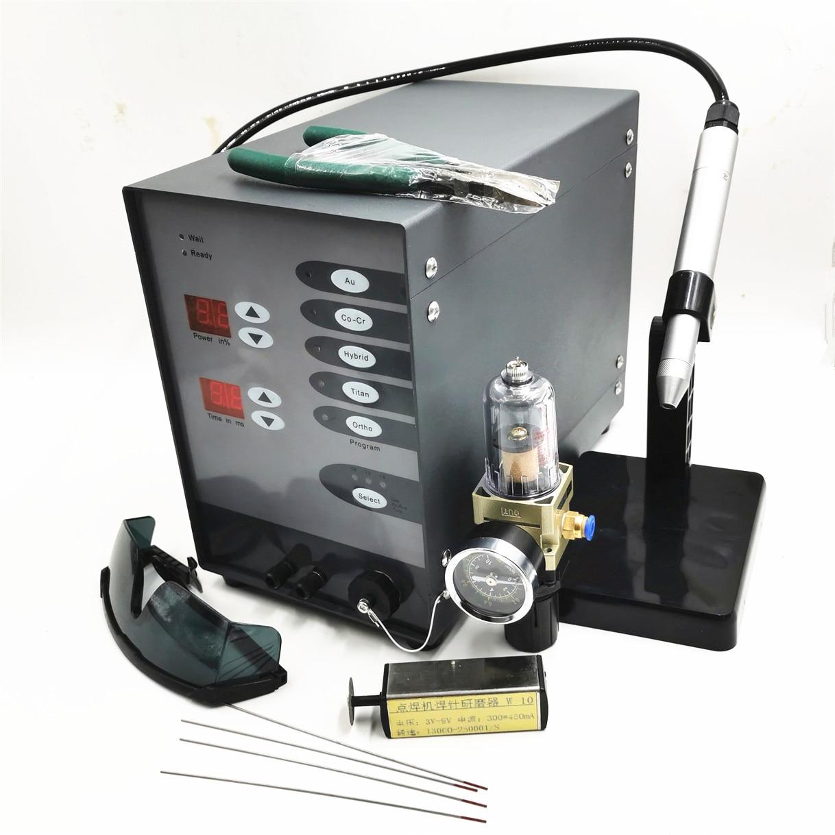 Soudeuse automatique de tache d'arc d'argon d'impulsion de commande numérique de Machine de soudure de Laser de tache d'acier inoxydable pour souder des bijoux