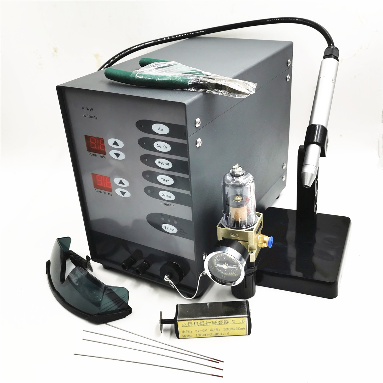 Stainless Steel Spot Welding Machine Laser Welding  Automatic Numerical Control Pulse Argon Arc Welder Jewelry Spot Welder