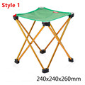 Portable Folding Chair Beach Seat Ultra Light Folding Camping Fishing Chair Seat For Outdoor Fish Chair  Free Shipping